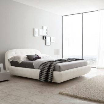Спальня в стиле модерн: фото и дизайн интерьера, гарнитур и мебель, итальянская комната, светлый современный гарнитур