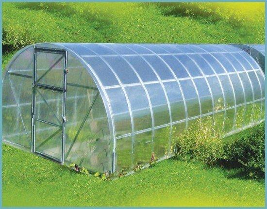 Теплицы из стекла и алюминия: алюминиевый профиль, стеклянная, остекление