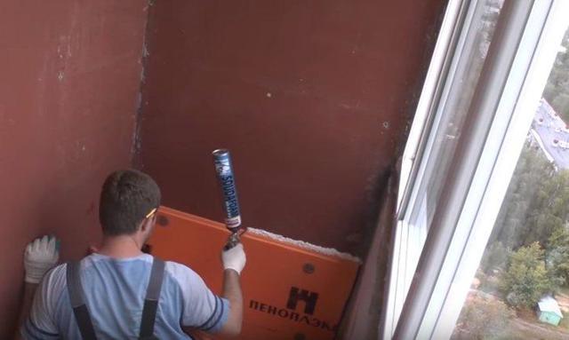 Как утеплить балкон: своими руками пошаговая инструкция, фото изнутри и видео как правильно, на лоджии пеноплекс