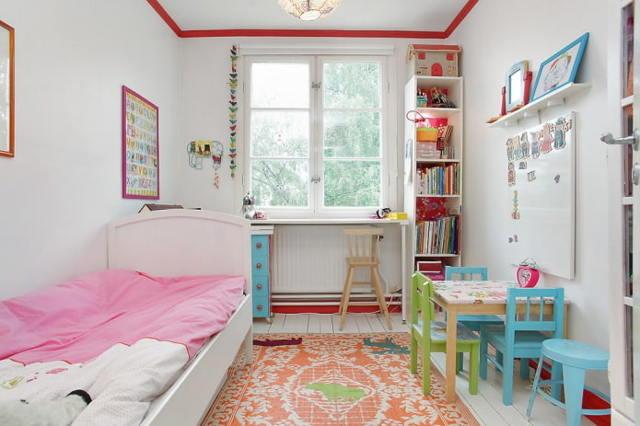 Дизайн детской комнаты для девочки и мальчика: фото интерьера, мебель для маленькой комнаты
