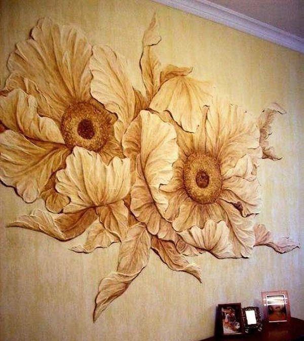 Панно из гипса на стену: гипсовое своими руками, декоративное настенное фото, мастер класс, как сделать из штукатурки, для дома винтажные