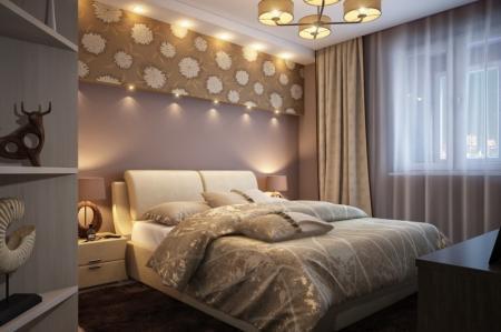 Обои в спальню фото в интерьере: фотообои светлые, красивая классика в хрущевке, жидкие и под покраску