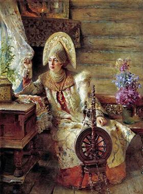 История вышивки крестом: историческая справка, создание русского вышивания крестиком