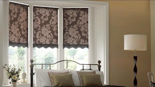 Шторы в спальню: дизайн и фото, красивые занавески для комнаты, интерьер с окном, оформление просто и со вкусом