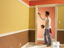 Дизайн и покраска прихожей: фото коридора, какой цвет стен в квартире, варианты двух красок для дома