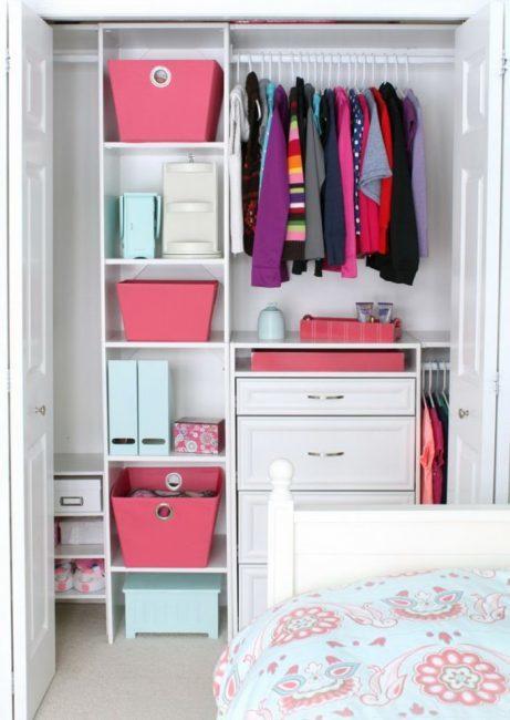 Гардеробная из кладовки в хрущевке: фото, как сделать, шкаф в прихожей, проект своими руками, маленькая комната