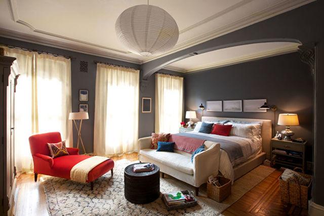 Потолки из гипсокартона для спальни фото: фотогалерея, дизайн двухуровневого с подсветкой
