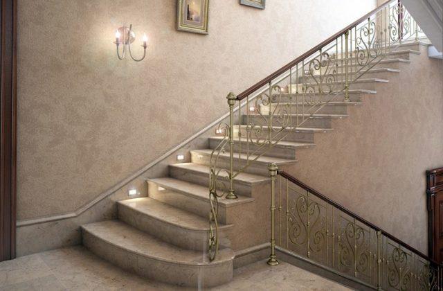 Подсветка лестницы: светодиодная лента своими руками, фото в доме, светильники для стен встраиваемые