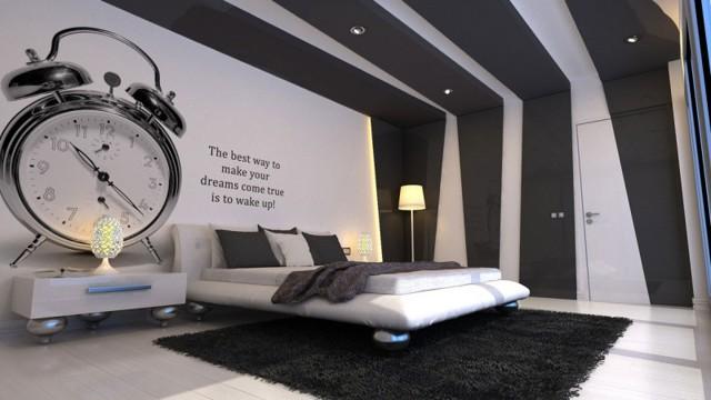 Черные обои: белые для стен, фон в интерьере, рисунки и фото узоров, золотые цвета и тона, черная пятница