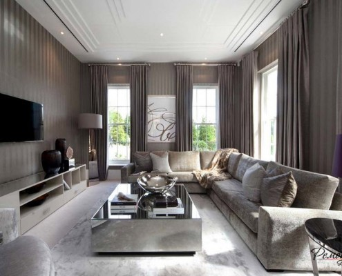 Роскошный интерьер гостиной: элитная мебель самая дорогая, шикарные фото, эксклюзивный дизайн, мягкая стенка