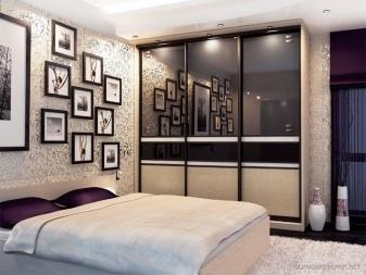 Угловые шкафы в спальню: фото и наполнение внутри, дизайн-идеи, размеры в маленькую, модульная белая мебель