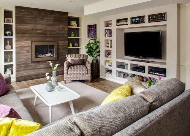 Мебель для зала: фото в квартире, интерьер гостиной, как выбрать и поставить, какие виды, красивые большие