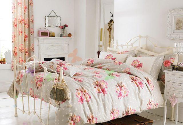 Спальня в стиле шебби-шик: интерьер и фото, дизайн своими руками, для девочки в мансарде