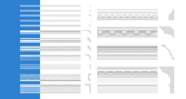 Молдинги в интерьере для разделения обоев: оформление стен, фото, как клеить, чем разделить два вида, видео
