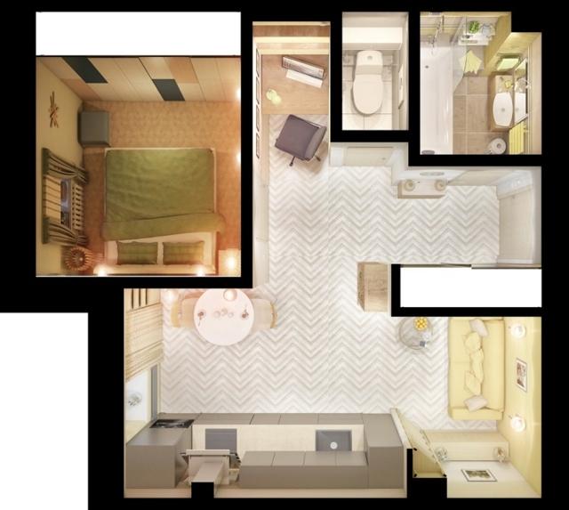 Как сделать перегородку из гипсокартона своими руками в комнате: фото однокомнатной квартиры, кухня-гостиная