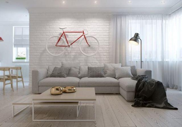 Гостиная в скандинавском стиле: интерьер и фото кухни, дизайн Икеа, маленькая мебель с камином, минимализм