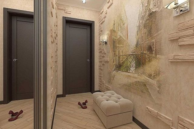 Идеи для прихожей: фото коридора, ремонт и дизайн квартиры своими руками, интерьер удобный и практичный