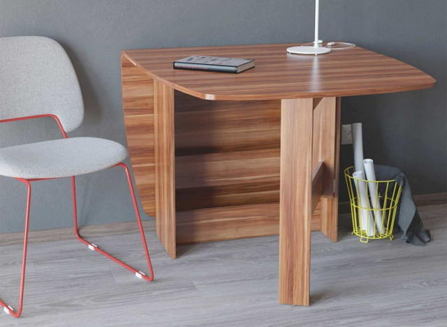 Стол для гостиной: тумбы с диваном в зал, дизайн и фото, книжки большие, материал для скатерти, массив