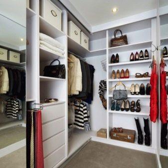 Гардеробные комнаты маленького размера: фото и проекты, дизайн как сделать, размеры небольшие, своими руками