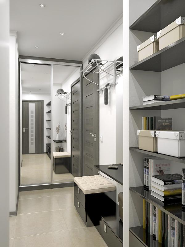 Мебель для прихожей в современном стиле: фото малогабаритной, маленькой и узкой, угловой и модульной прихожей
