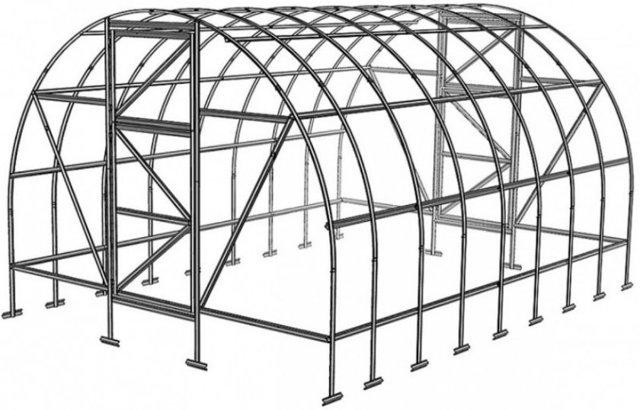 Теплица 2 ДУМ: дачный парник, инструкция по поликарбонату, сборка по видео, отзывы, метры, схема для производителей