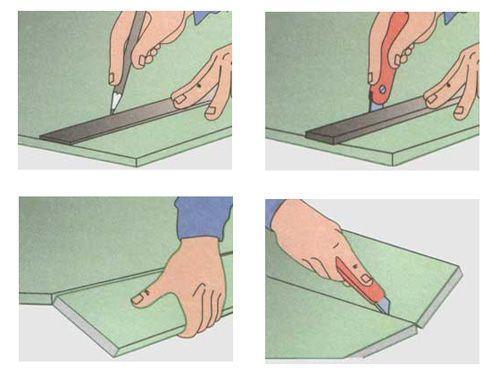 Фальш камин своими руками из гипсокартона: фото, сделать пошагово угловой, видео, чертеж декоративного портала