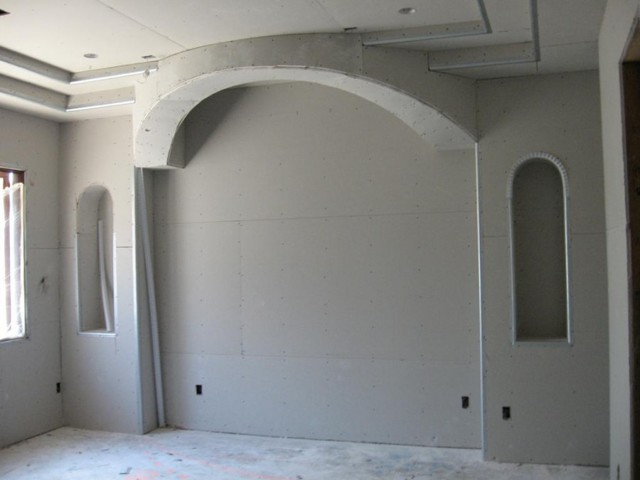 Стены из гипсокартона: отделка своими руками, дизайн и схема, как класть, плюсы и минусы, пошаговая инструкция