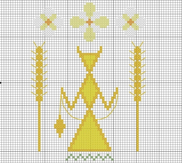 Макошь схема вышивки крестом: скачать бесплатно, оберег на любовь, какой орнамент подобрать
