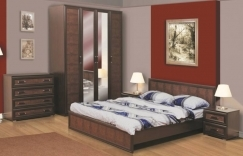 Мебель модульная для спальни: набор недорогой, системы и фото