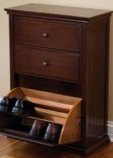 Комод для обуви в прихожую: узкий ящик, этажерки и мебель, фото стеллажей, хранение в комоде, стойка маленькая