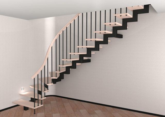 Лестница из профильной трубы: чертежи своими руками, как сварить каркас, фото на второй этаж, расчеты
