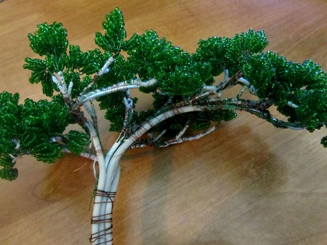 Бонсай из бисера своими руками мастер-класс: схемы плетения дерева, МК и фото, как сплести и сделать сакуру