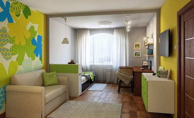 Прихожие-детские-гостиные: мебель в доме, шкафы и из дизайн в одной комнате, объединенный интерьер, фото купе