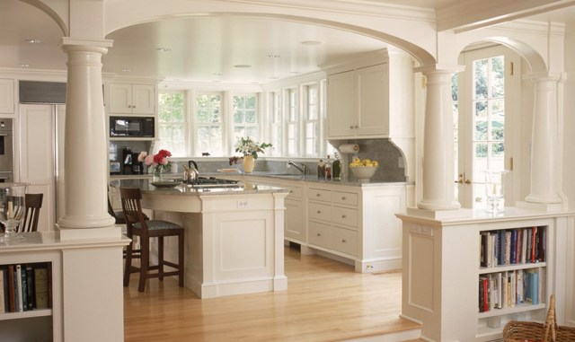 Арки на кухню из зала: фото между гостиной, все виды дизайна, совмещенный интерьер