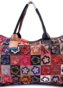 Лоскутное шитье сумки своими руками выкройки: в стиле пэчворк, фото и мастер-класс из кожи