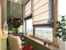 Шторы на балкон фото: римские карнизы на лоджию, как сделать своими руками