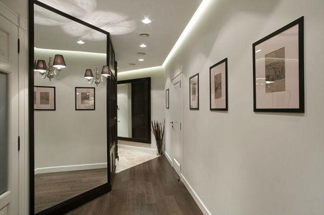 Освещение в прихожей фото какие светильники выбрать: в коридор точечные, какой выбрать светодиод, своими руками