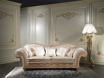 Классические диваны для гостиной: стиль для угловых, фото российского производства, интерьер с прямыми креслами