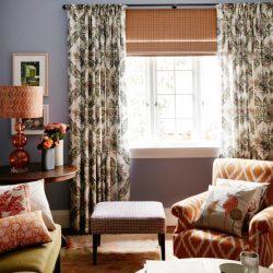 Текстиль в стиле прованс: интерьер кантри, фото штор, дача в деревенском стиле, тюль для спальни и зала шебби шик