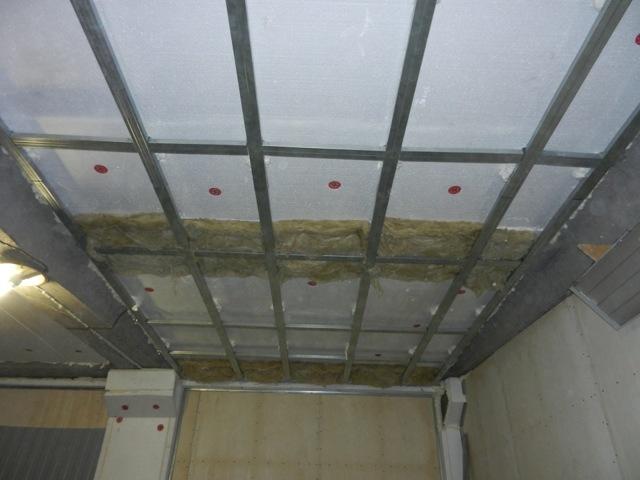 Потолок в гараже: чем обшить, фото чем отделать, высота, своими руками чем покрасить, из чего сделать, из профнастила в металлическом чем лучше