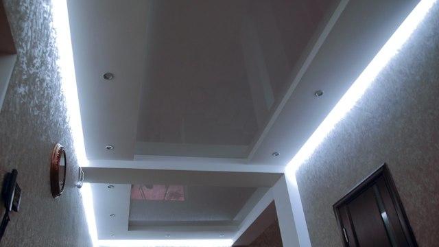 Парящий потолок: фото, профиль для потолков с подсветкой, конструкция, скрытые светильники, видео