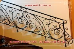 Кованые перила для лестниц: фото ковки и деревянных лестниц, художественные эскизы и проекты в доме и на улице