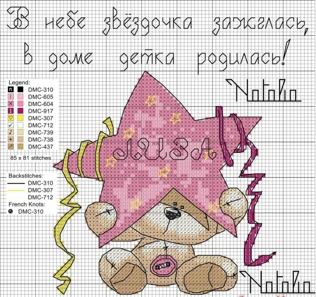 Метрика вышивка крестом схемы: для девочки детская, бесплатно для мальчика, скачать без регистрации, видео