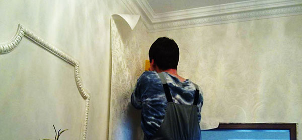 Обои на гипсокартон как клеить: можно ли, правильно стены, стеклообои и флизелиновые, виниловые без шпаклевки