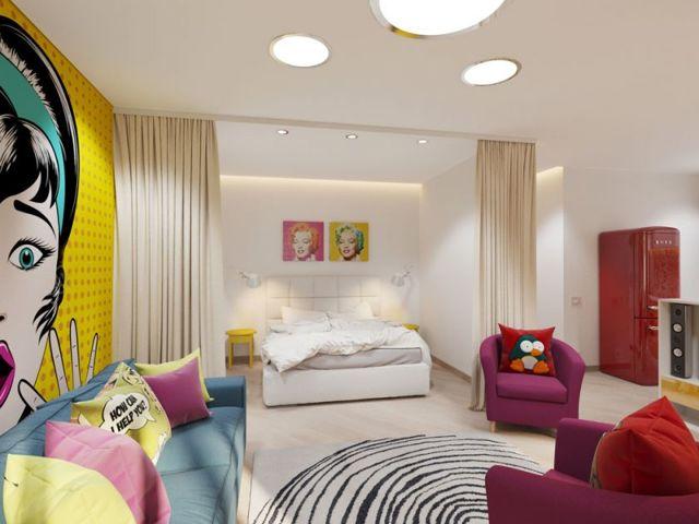 Интерьер спальни: фото в квартире, комнаты попроще, создавая реальный, фотогалерея и спокойные виды, картинки