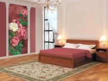 Обои в спальню комбинированные фото дизайн: как оформить разными комбинациями, красивое сочетание между собой