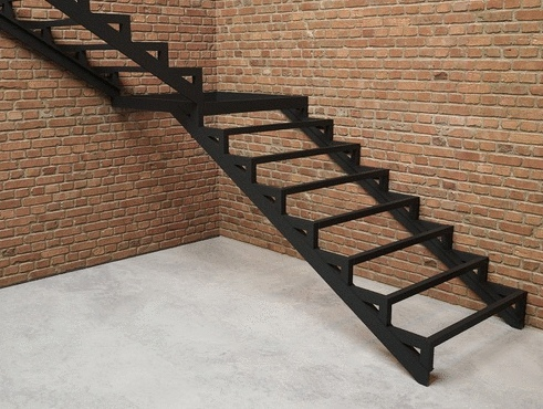 Изготовление металлических лестниц: своими руками железную сделать, в дом из металла, как сварить из уголка