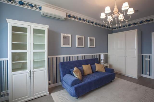 Обои компаньоны фото примеры: в интерьере, как клеить для зала и спальни, для кухни и детской, для прихожей