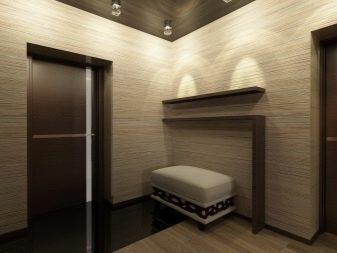 Стены в прихожей варианты отделки фото: коридор из гипсокартона, цвет и дизайн квартиры, декоративные материалы