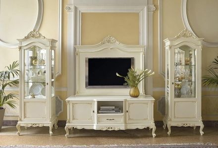 Мебель для гостиной Италия: фото столов и стульев, классика мягкая, комоды в современном стиле и стенки